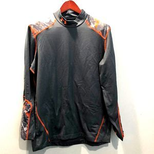 Under Armour Fitted Coldgear Geometric Pattern XL